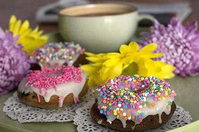 Homemade doughnuts easier if baked, not fried