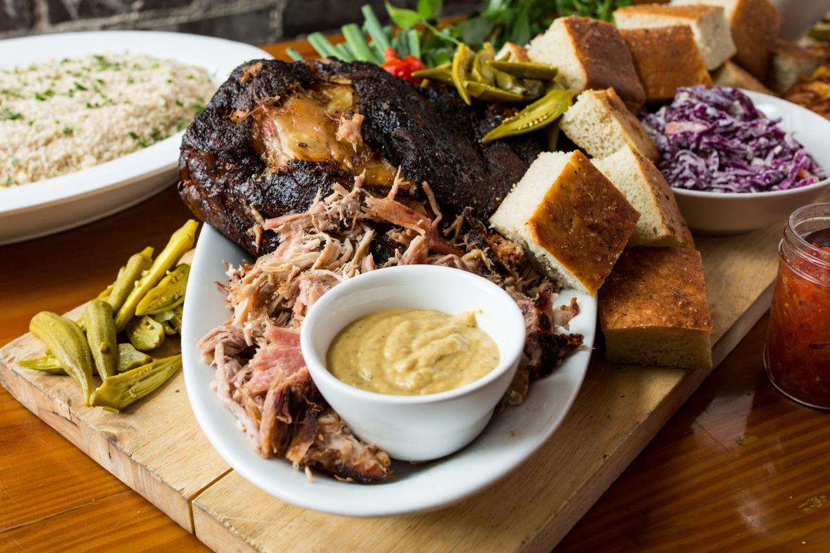 Bone-In Barbeque photo by Forrest Clonts-14-Hr Smoked Pulled Pork Family Meal BY2A3377.jpg