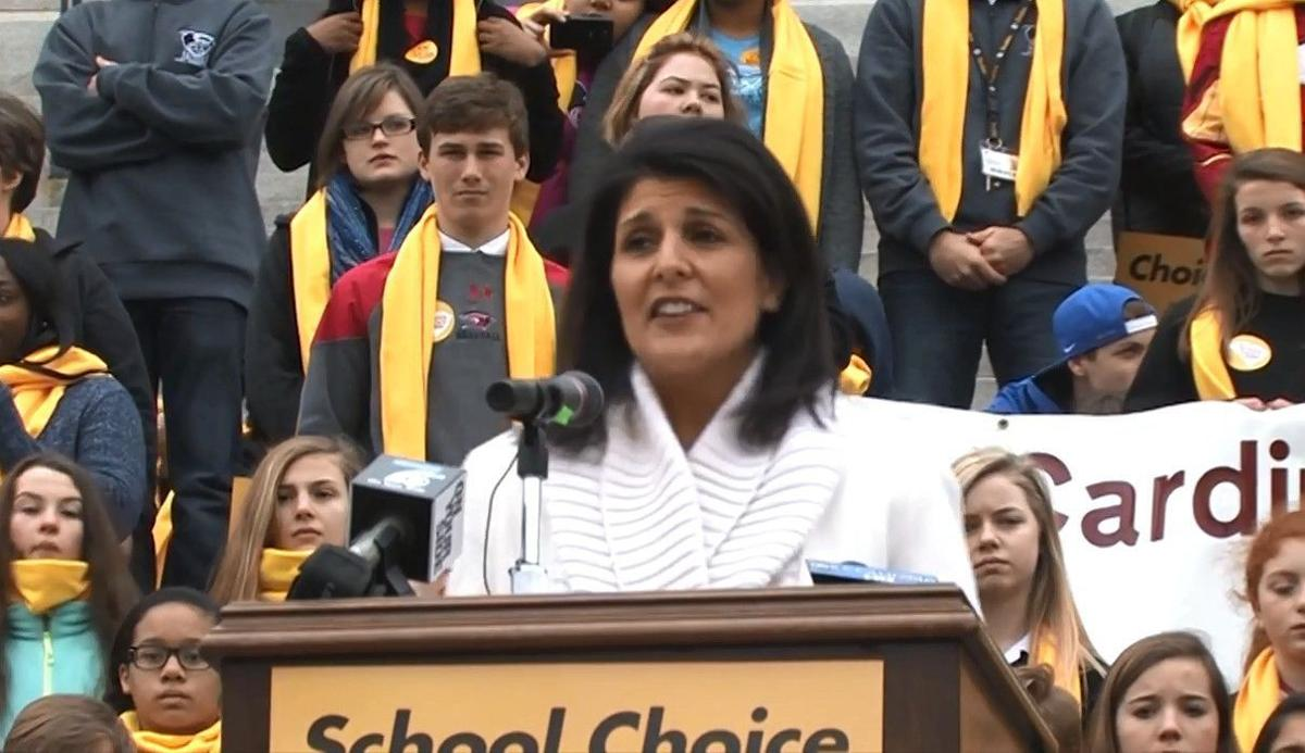 School choice proponents rally at the Statehouse