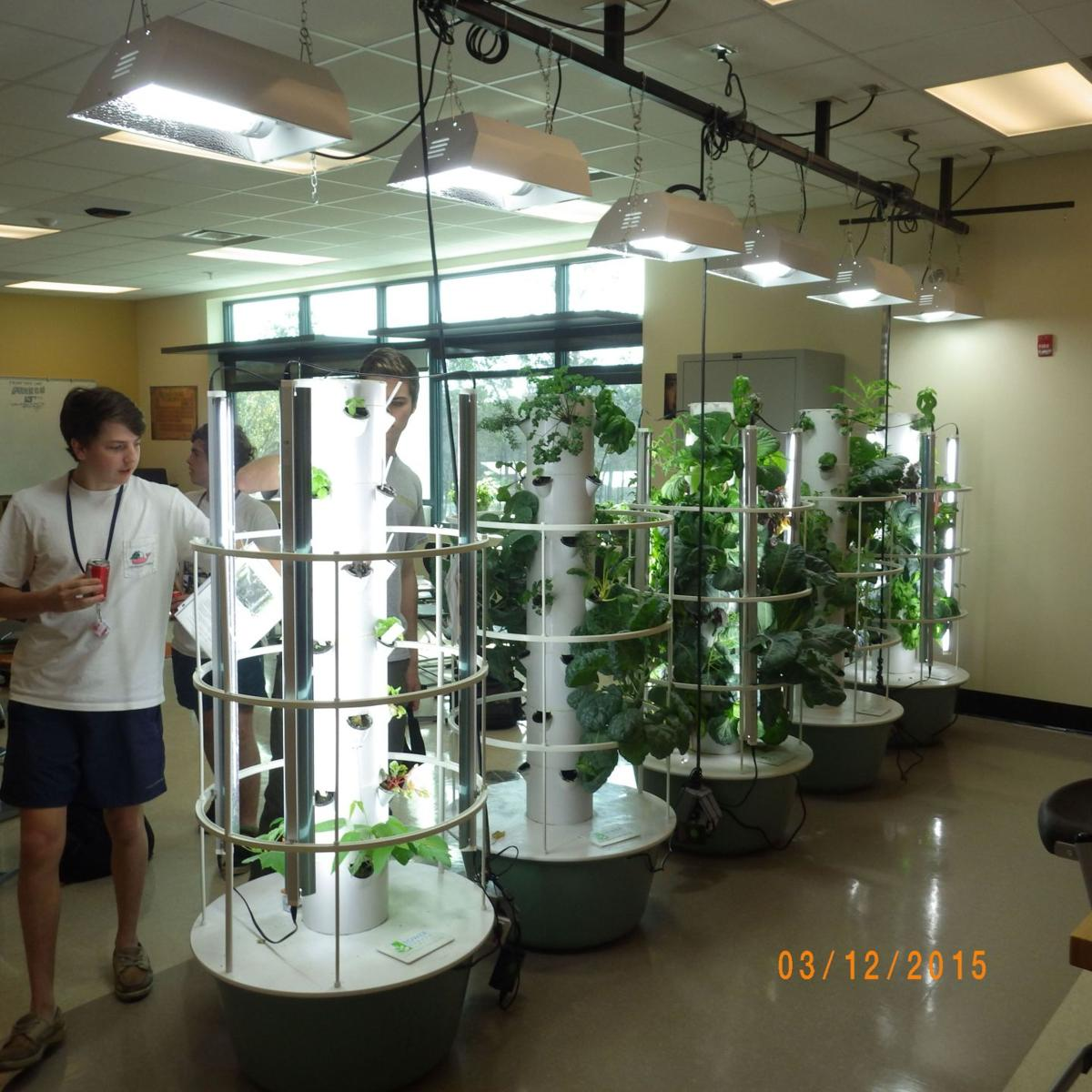Wando students rooted Horticulture program growing