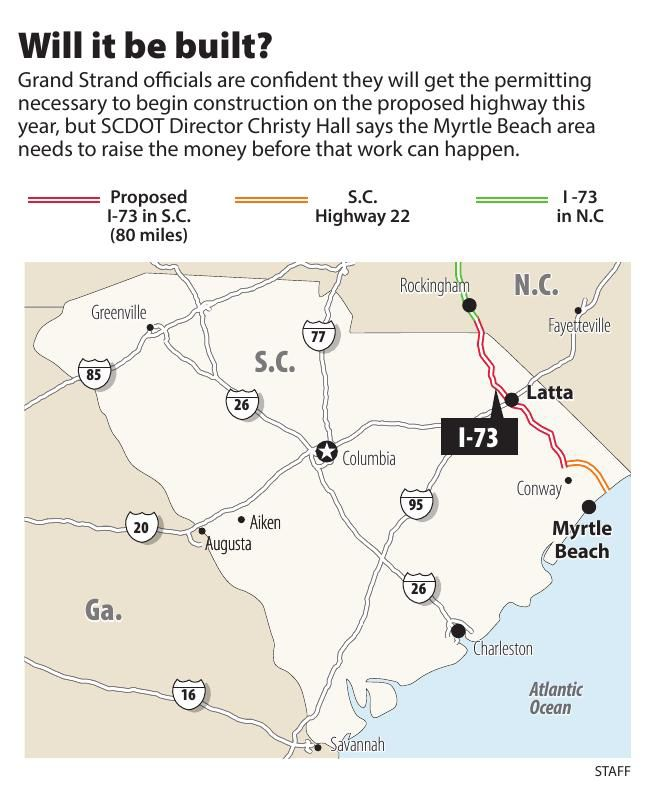 Interstate 73: Will it be built? | | postandcourier.com on interstate 275 map, interstate 71 ohio map, interstate 64 virginia map, interstate 280 map, interstate 45 map, interstate 40 texas map, interstate 41 map, interstate 89 map, interstate 87 map, interstate map train, interstate 295 map washington dc, interstate 57 map, interstate 285 map, interstate 35 map, interstate 91 map, interstate 69 map,