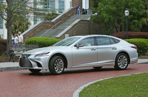 Pushing the envelope: 2018 Lexus LS 500 builds on three decades of luxury and performance