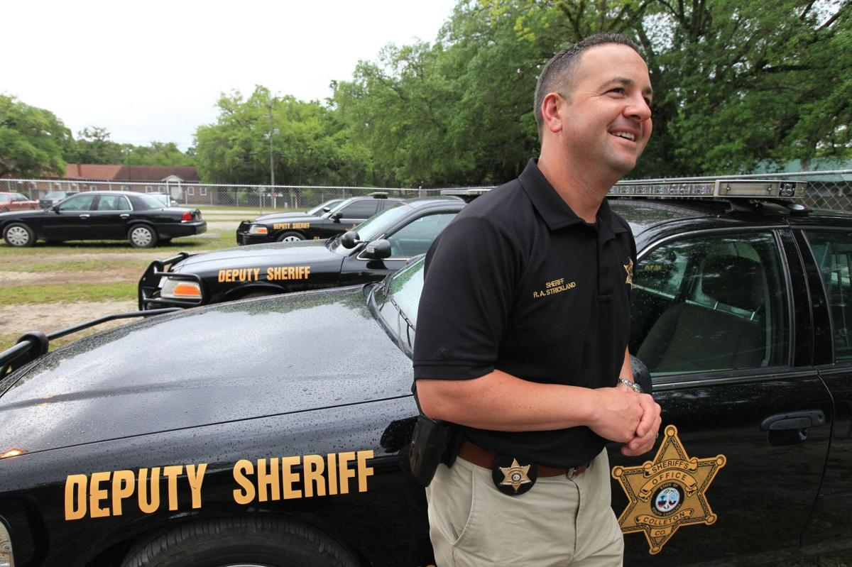 A sheriff 's passion Policing got in Andy Strickland's blood when he was a boy