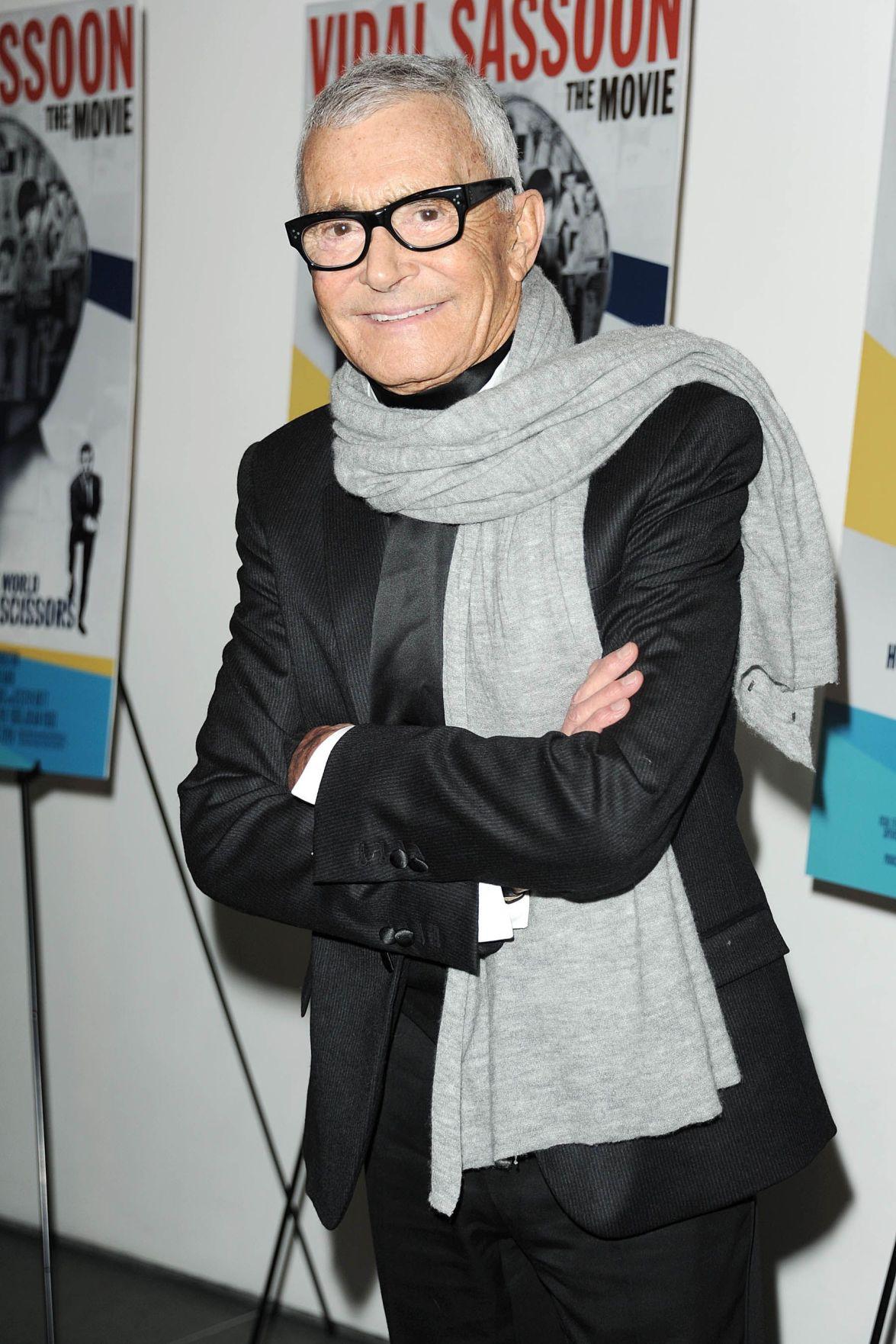 Hairstyling pioneer Vidal Sassoon dies at 84 in Los Angeles