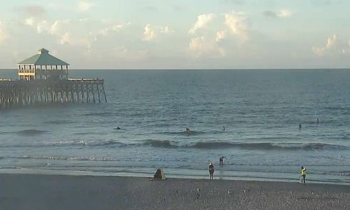 Hot and humid in Charleston, high 92, heat index 101