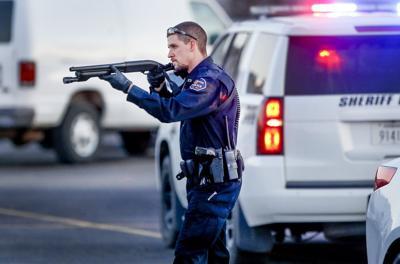 AP-US--Shooting-Kansas Business, 10th Ld-Writethru,508<\n>URGENT<\n>Sheriff says gunman, 3 others dead after shootings in Kansas<\n>AP Photo NY118, KSWIE103, KSWIE102, KSWIE101