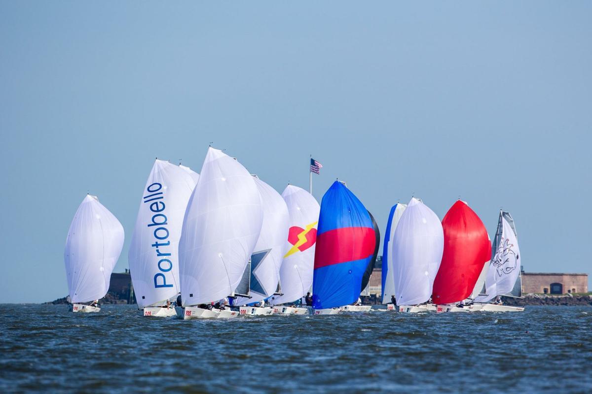 Sailors enjoy afternoon racing