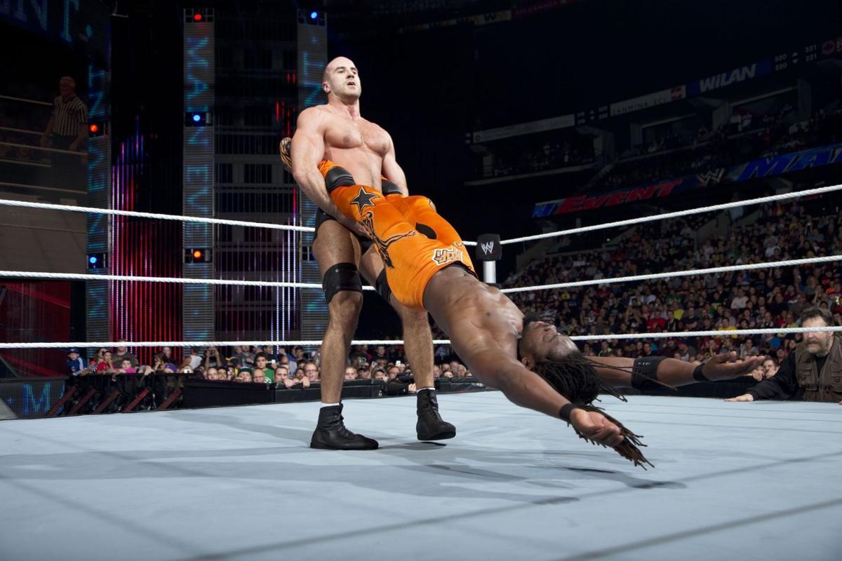'King of Swing' Cesaro moving up WWE ladder