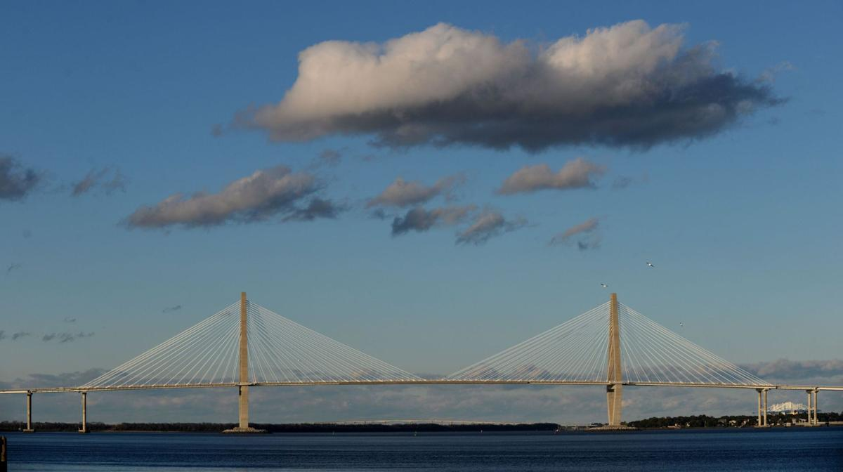 An engineering marvel Charleston's beloved bridge weathers its first decade DOT awaits word on funding for anti-icing tech on cables 'Ice bombs' smashed windshields following 2014 winter storm