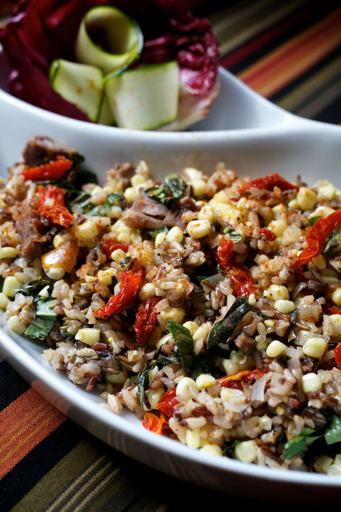 Cast-iron skillet makes this fried rice