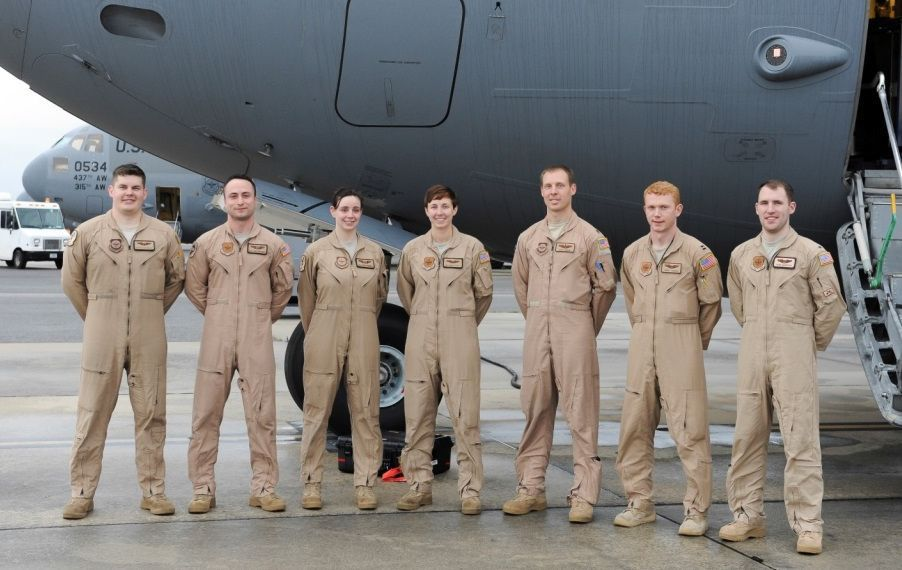Charleston air base crew helps get U.S. families out of Turkey