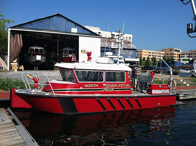N. Chas. fireboat dedication today