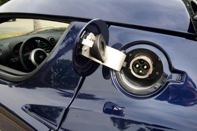 South Carolina's first Tesla car charging station opening in Santee