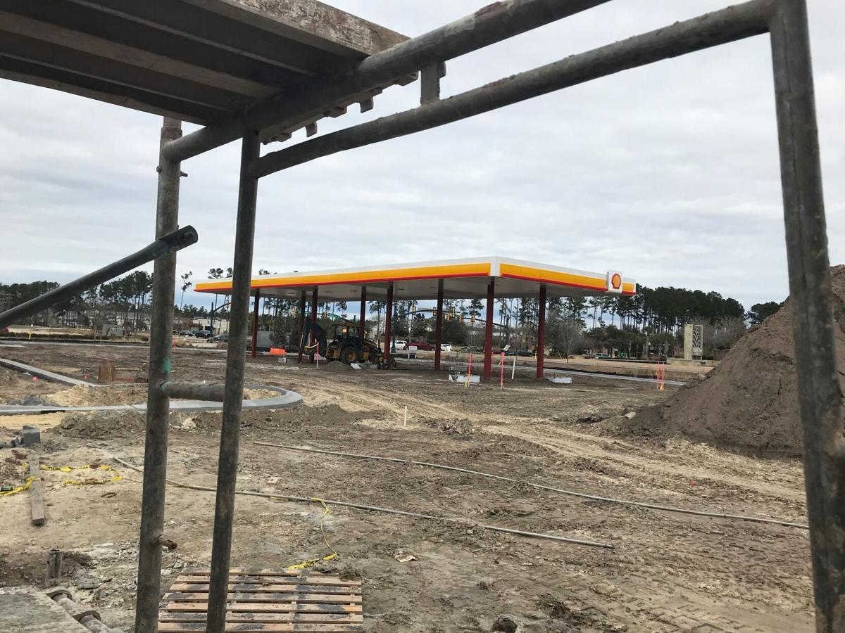 North Creek Market under construction across from Cane Bay