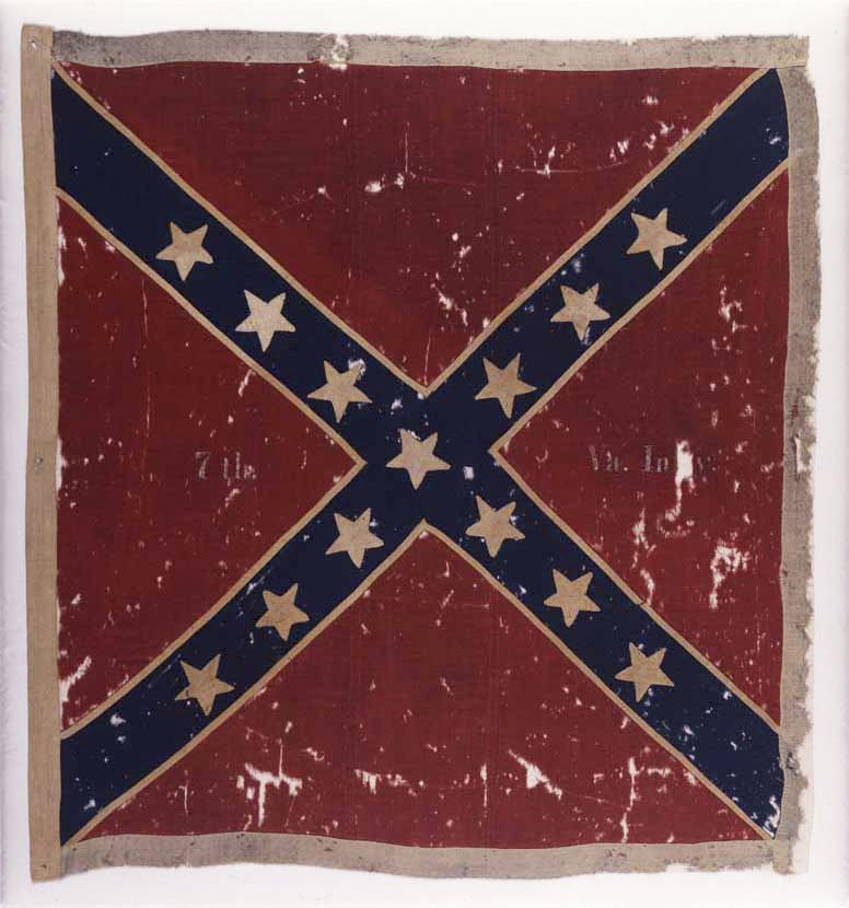 Why Confederate flag belongs there