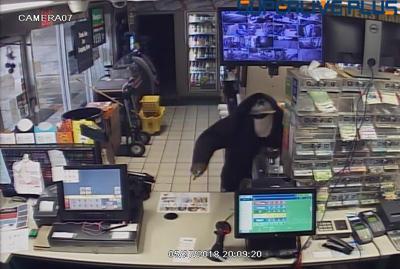 Robbery stapler