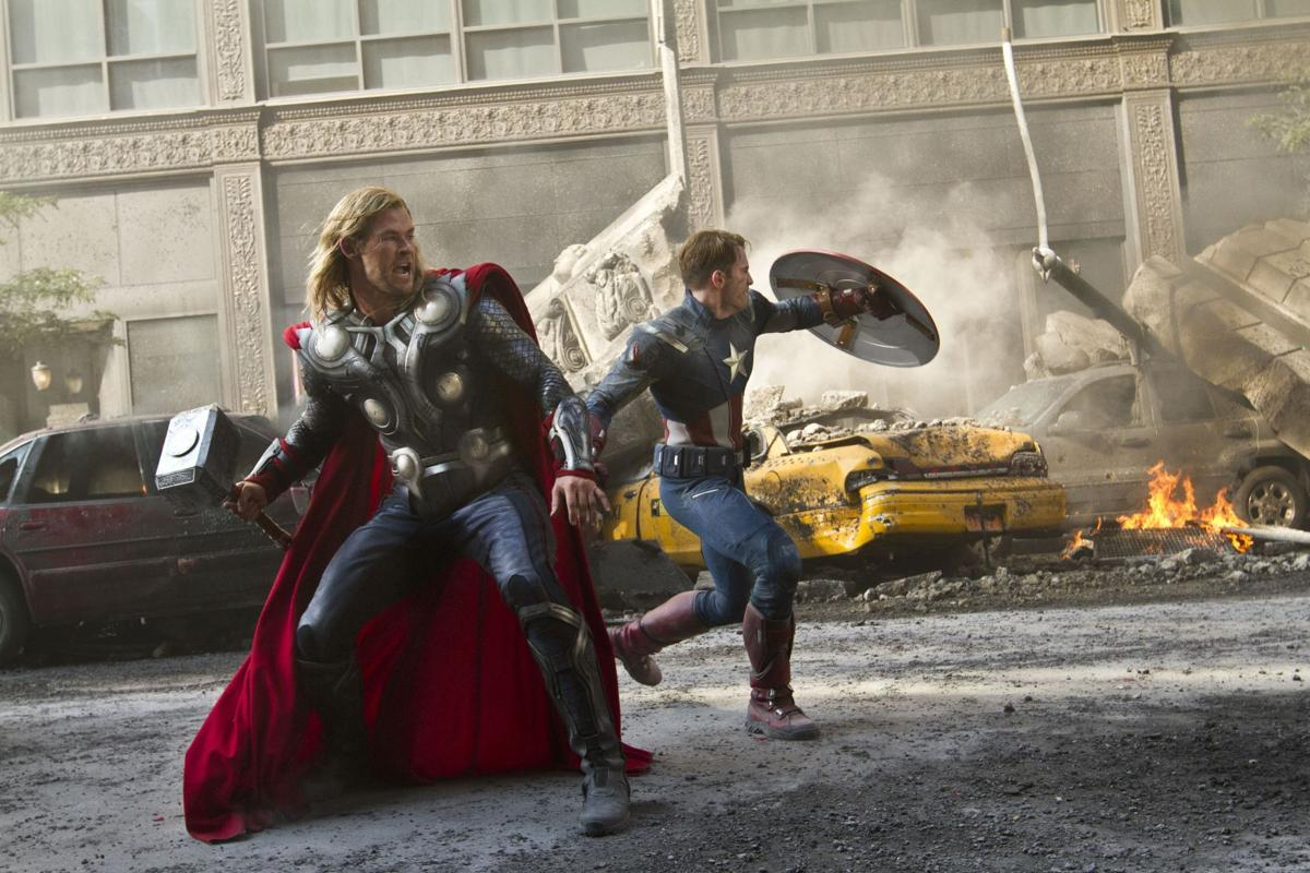 'Avengers' hits big screen with a blast