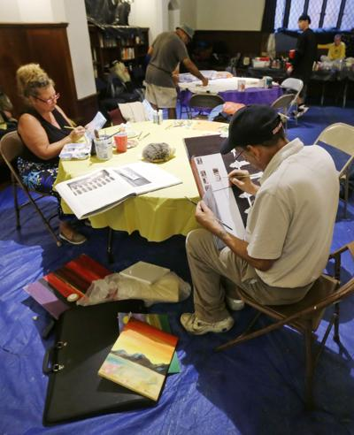 A place to create art Boston church offers place for homeless to express themselves