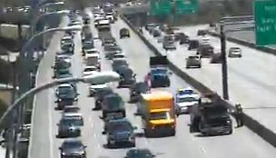 Traffic moving again on Ravenel Bridge after wreck