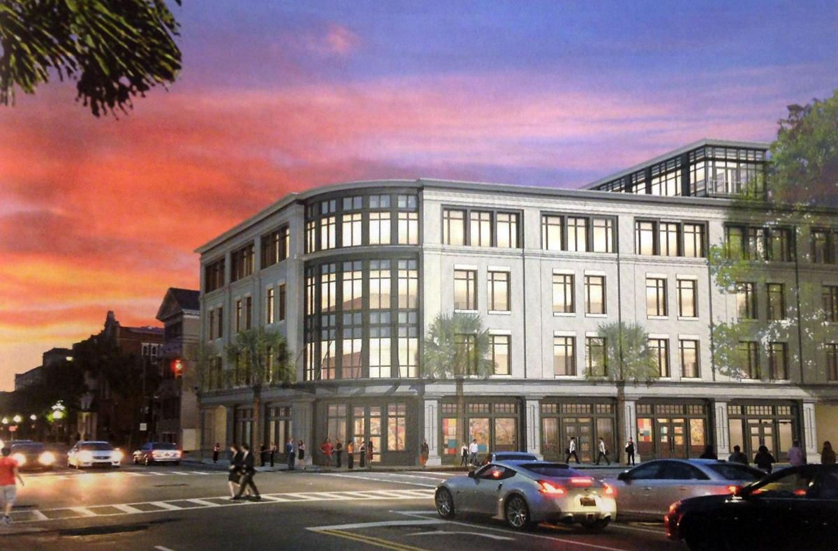 Office building eyed for 1970s-era bank at busy Charleston corner