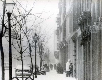 The legendary snowstorm of '89 gave Charleston a white