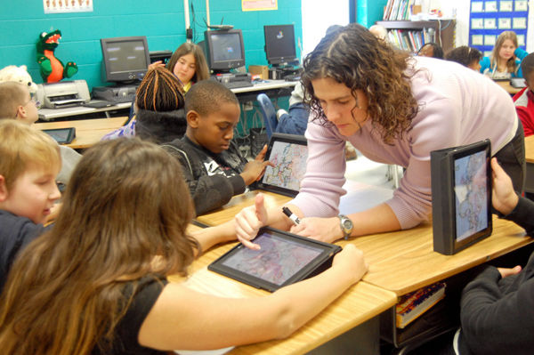 Tools of the future: Berkeley County schools using iPads in classroom lessons, as study aids