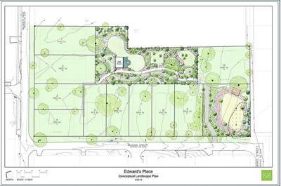Edwards Place landscaping plan