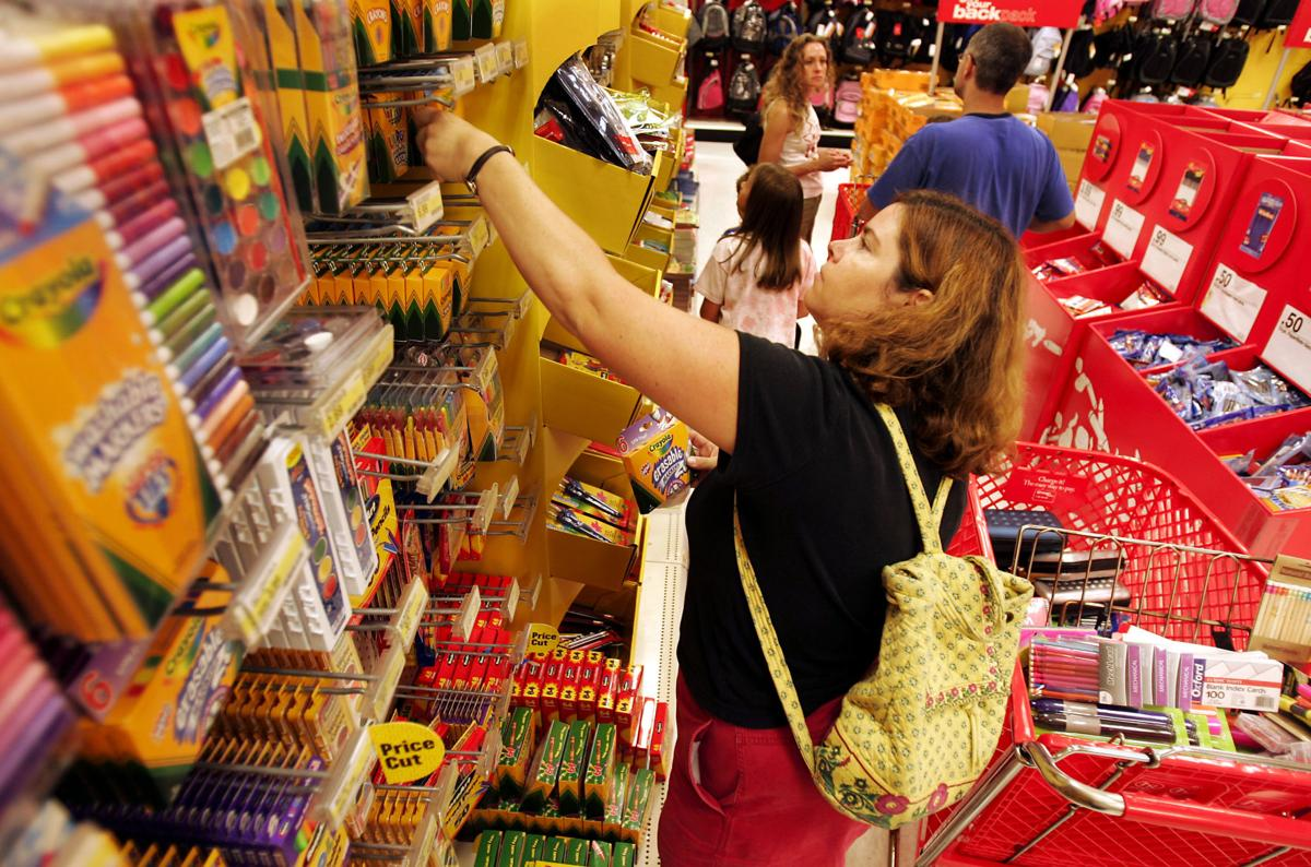 Tax-free weekend for back-to-school supplies starts Friday (copy)