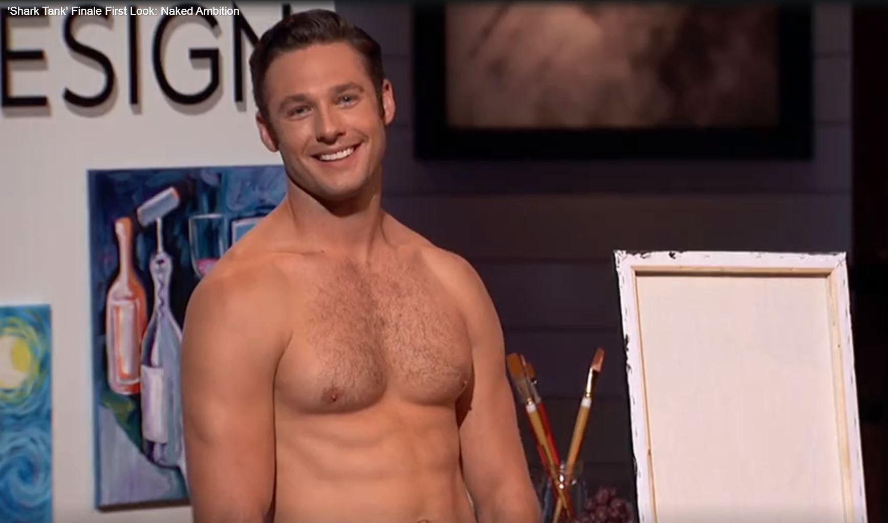 Investors on ABCs Shark Tank shocked as man strips