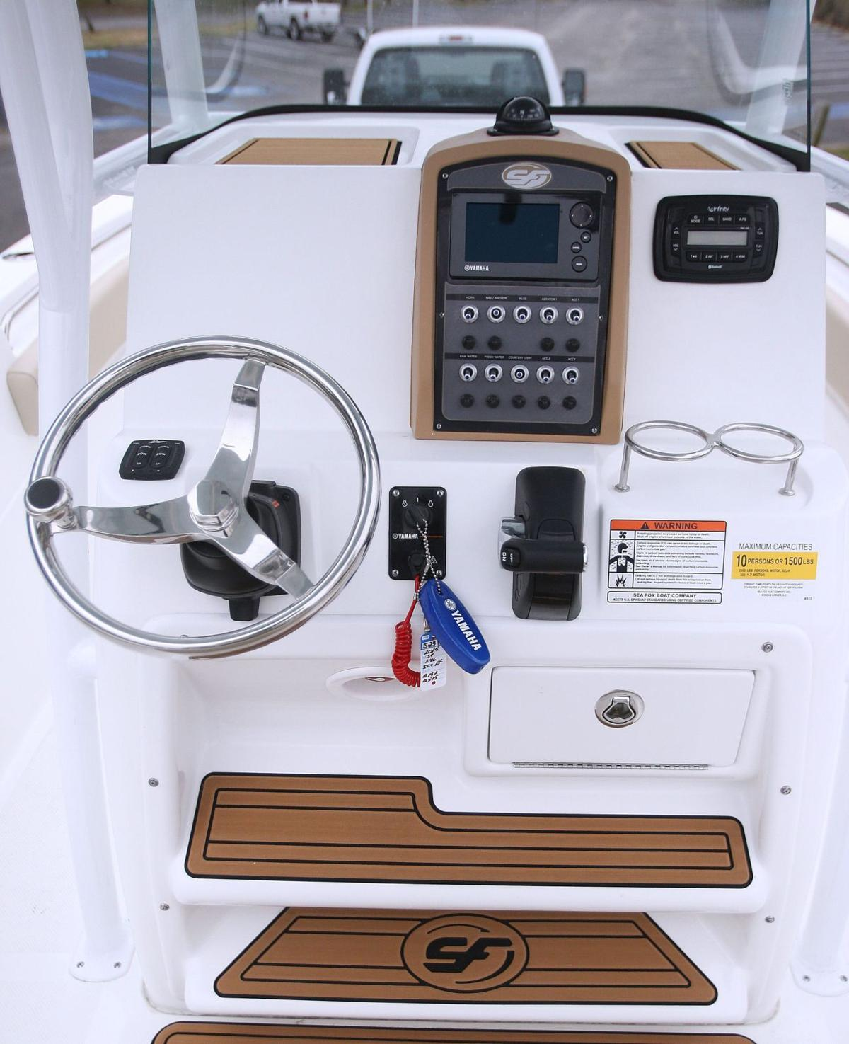 Commanding Position: West Ashley boat dealer showcases more than 24-foot, locally built Sea Fox edition as its top seller