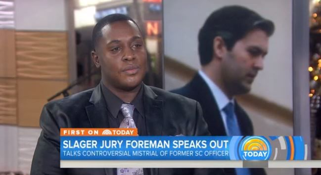 Jury foreman in Slager trial speaks on Today show