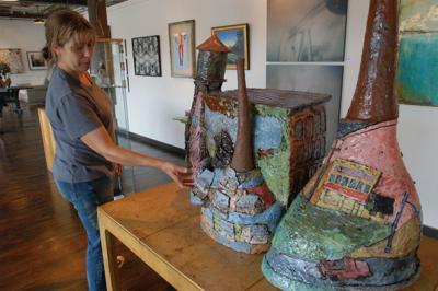 Not run of the mill Village of West Greenville emerges as art mecca