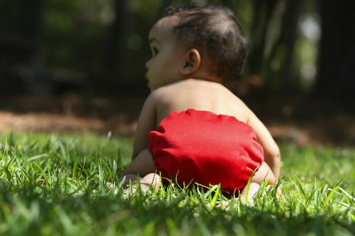 Many eco-minded parents turn to alternative diaper products made of cloth