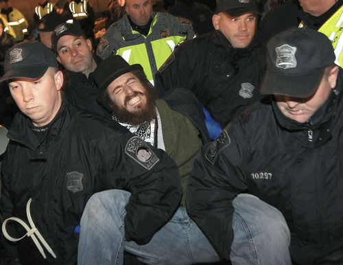 Police evict Occupy Boston protesters; 46 arrested