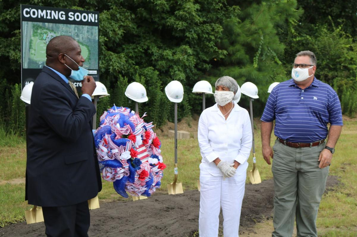 Groundbreaking ceremony held for John McCants Veterans Park in Goose Creek