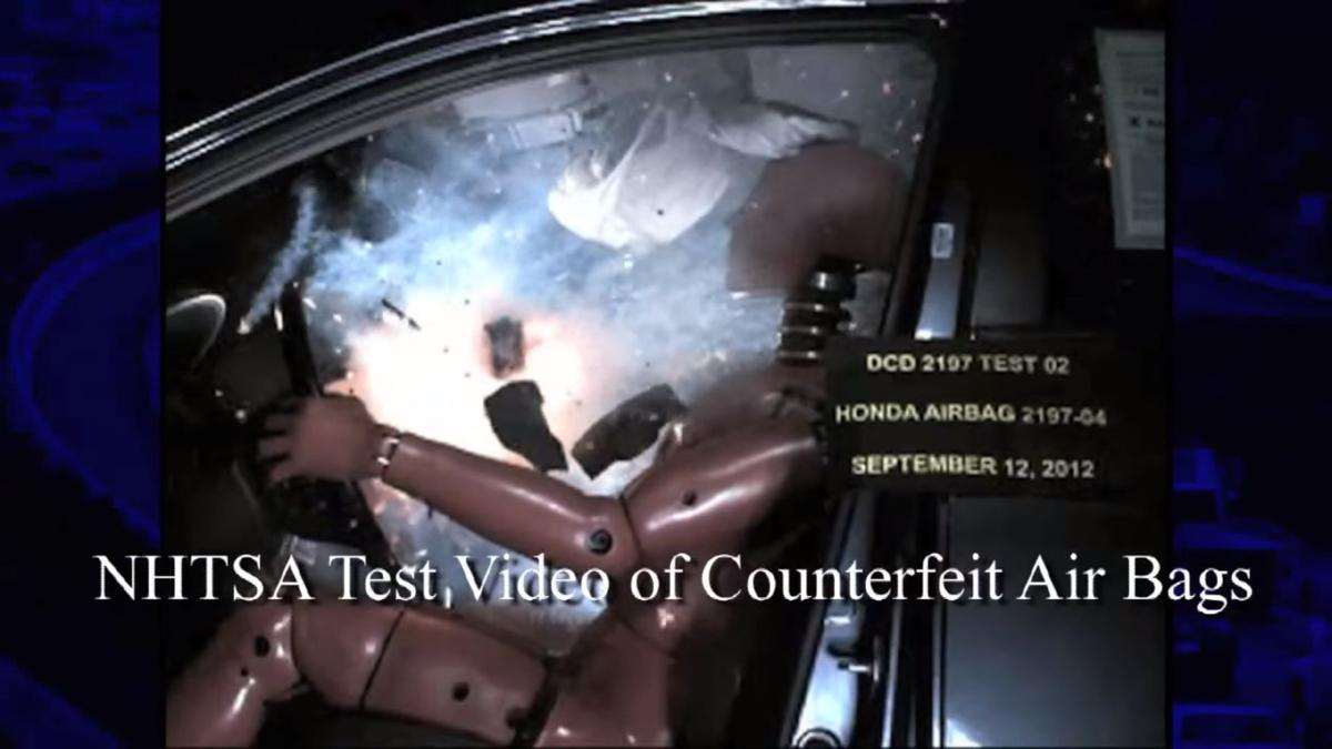 Senate gives key approval to counterfeit airbag bill