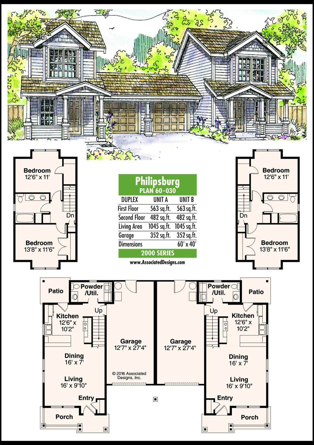 This week's house plan Philipsburg 60-030