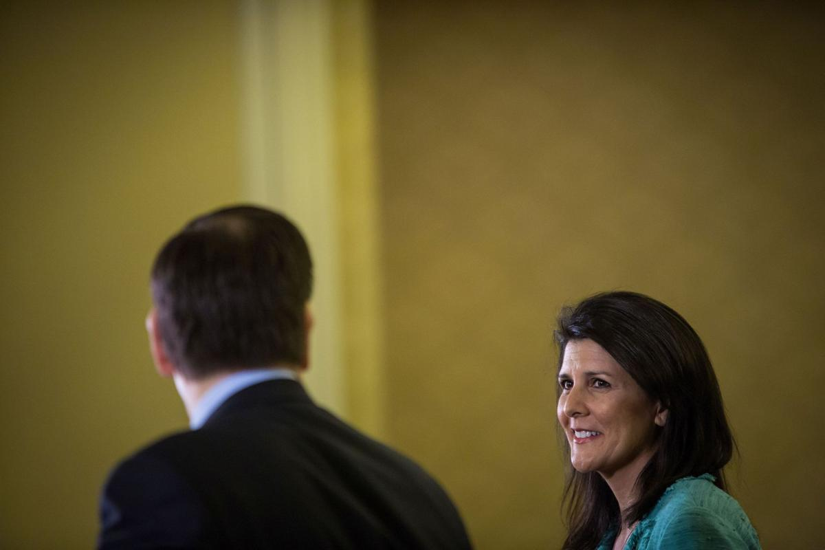 Gov. Nikki Haley says Donald Trump's behavior 'unacceptable'
