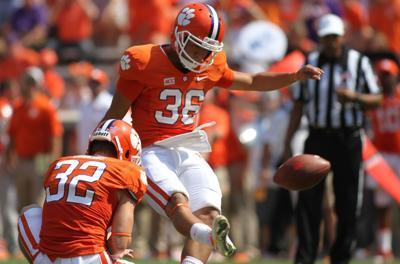New Clemson kicker Lakip doesn't fear pressure, swapping soccer for football
