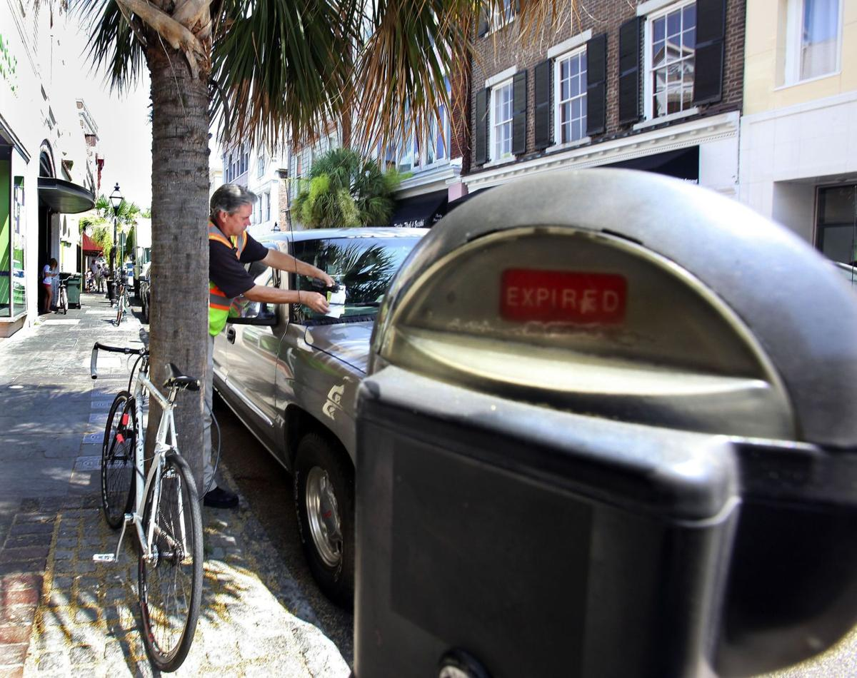 City of Charleston parking tickets can be paid online