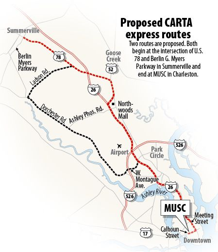 Public backs CARTA Summerville routes