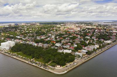 Charleston aerial