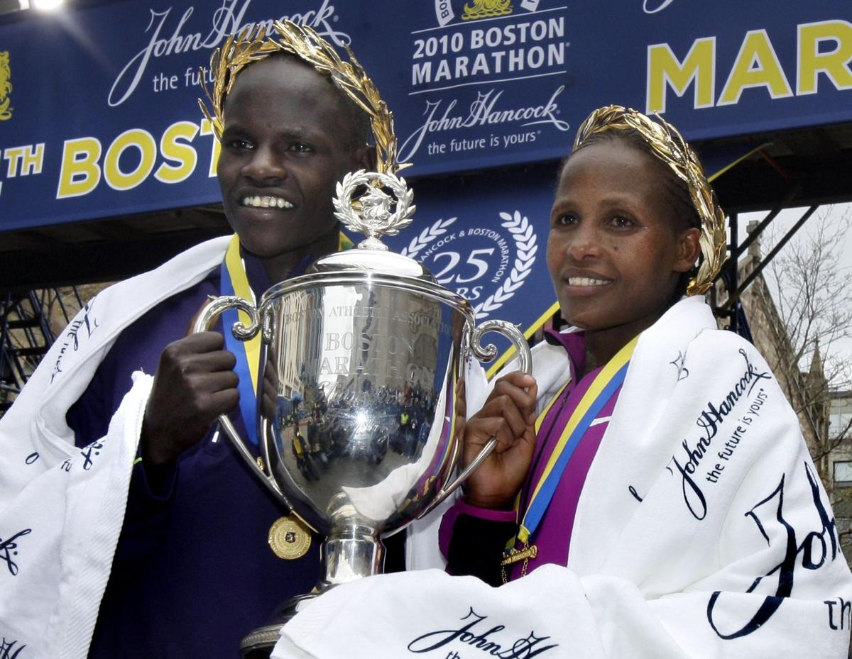 'Breakthrough day' as Cheruiyot sets record