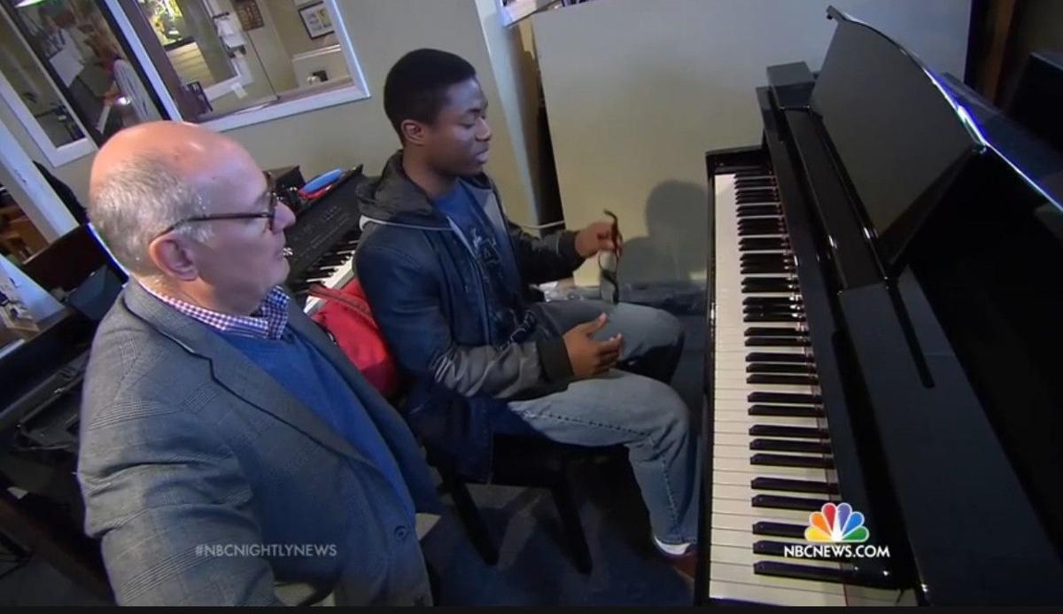 Fox Music on NBC 'Nightly News' this week for keeping piano art alive