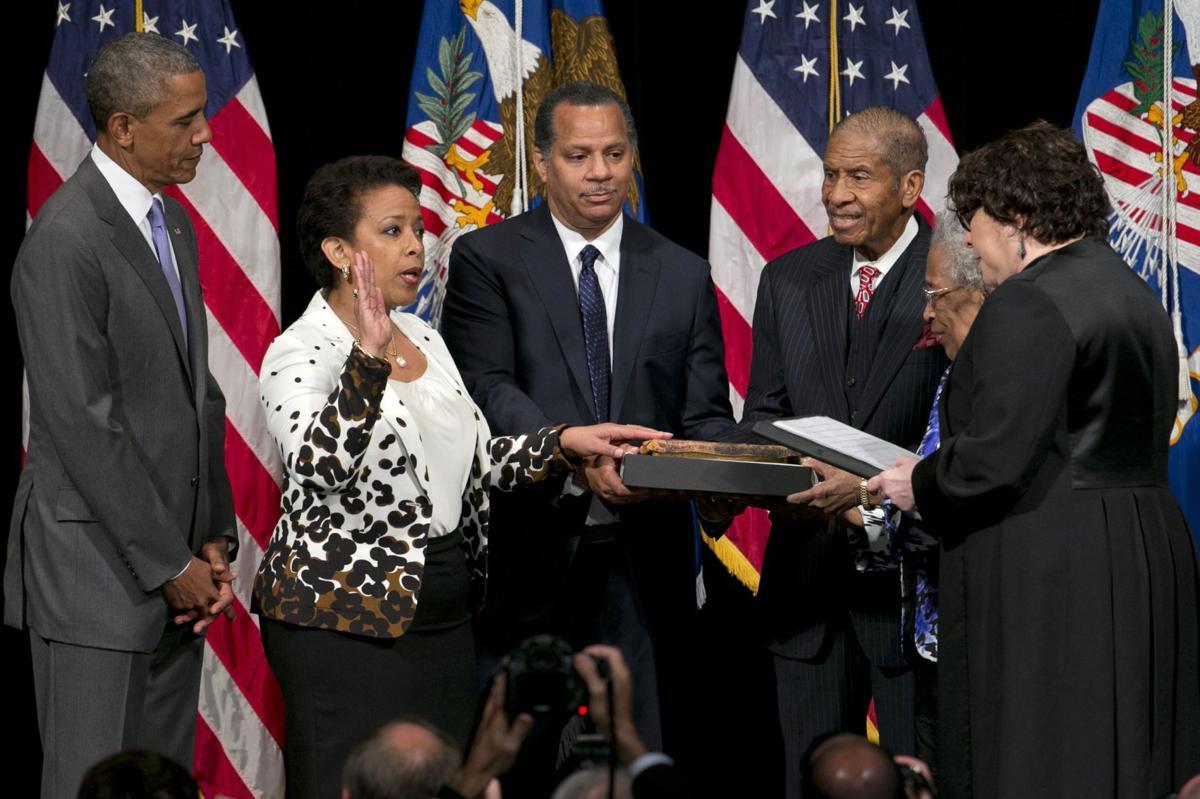 Obama praises Lynch as tough-but-fair attorney general