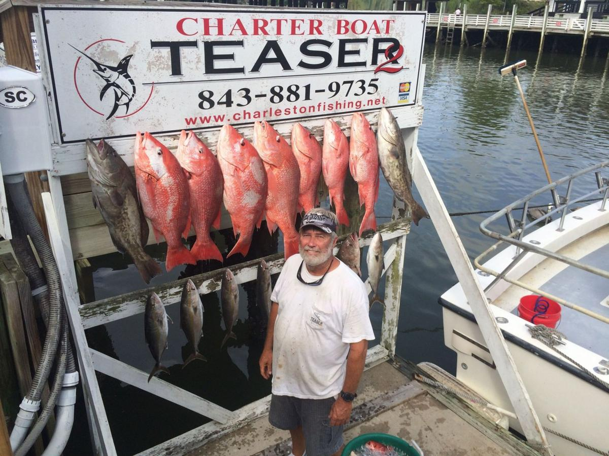 Red snapper mini season yielding good catches sports for Fishing season nc