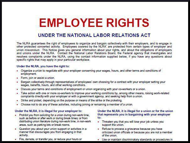 Judge voids NLRB rule on union postings