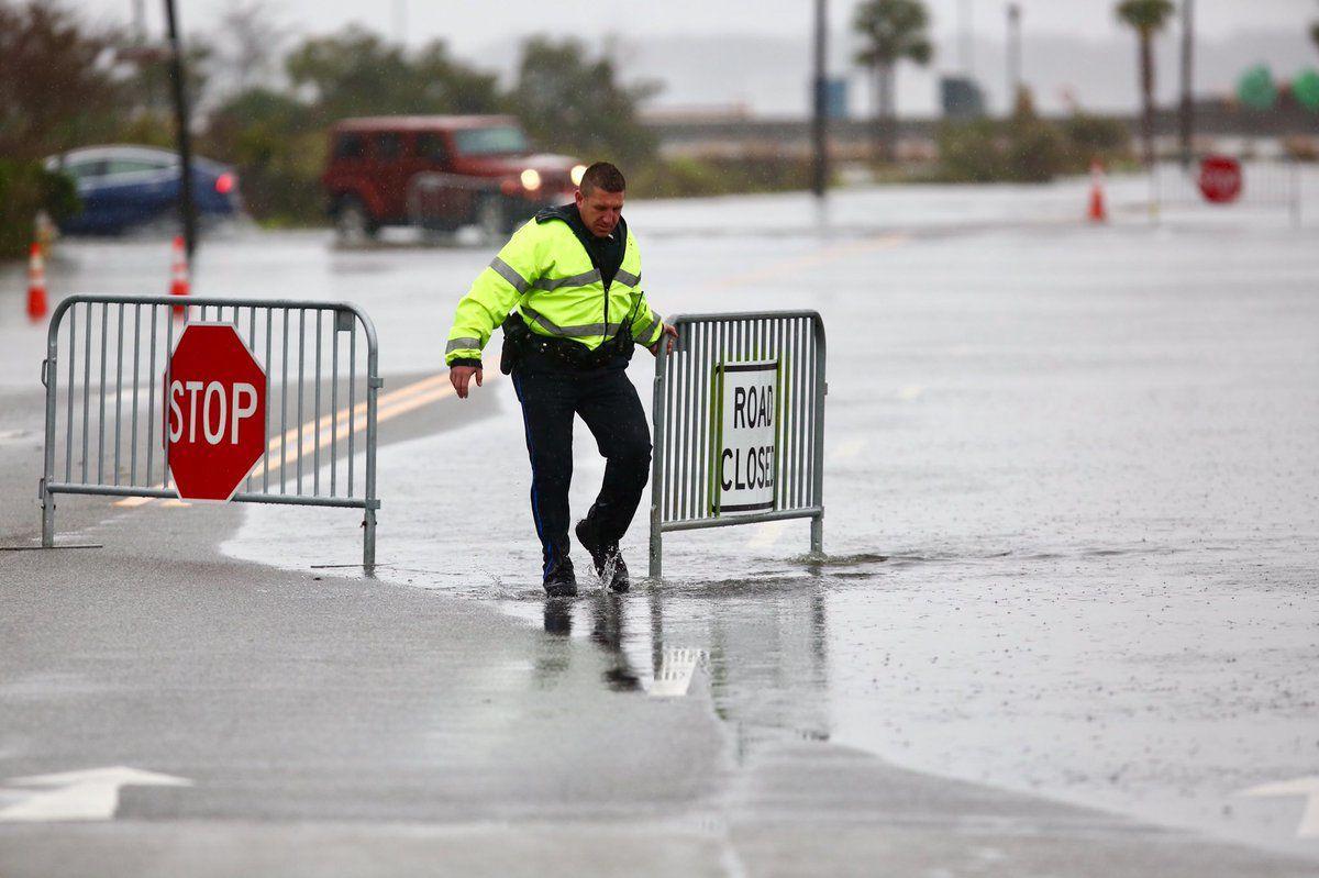Lockwood Drive flooding Dec. 9, 2018