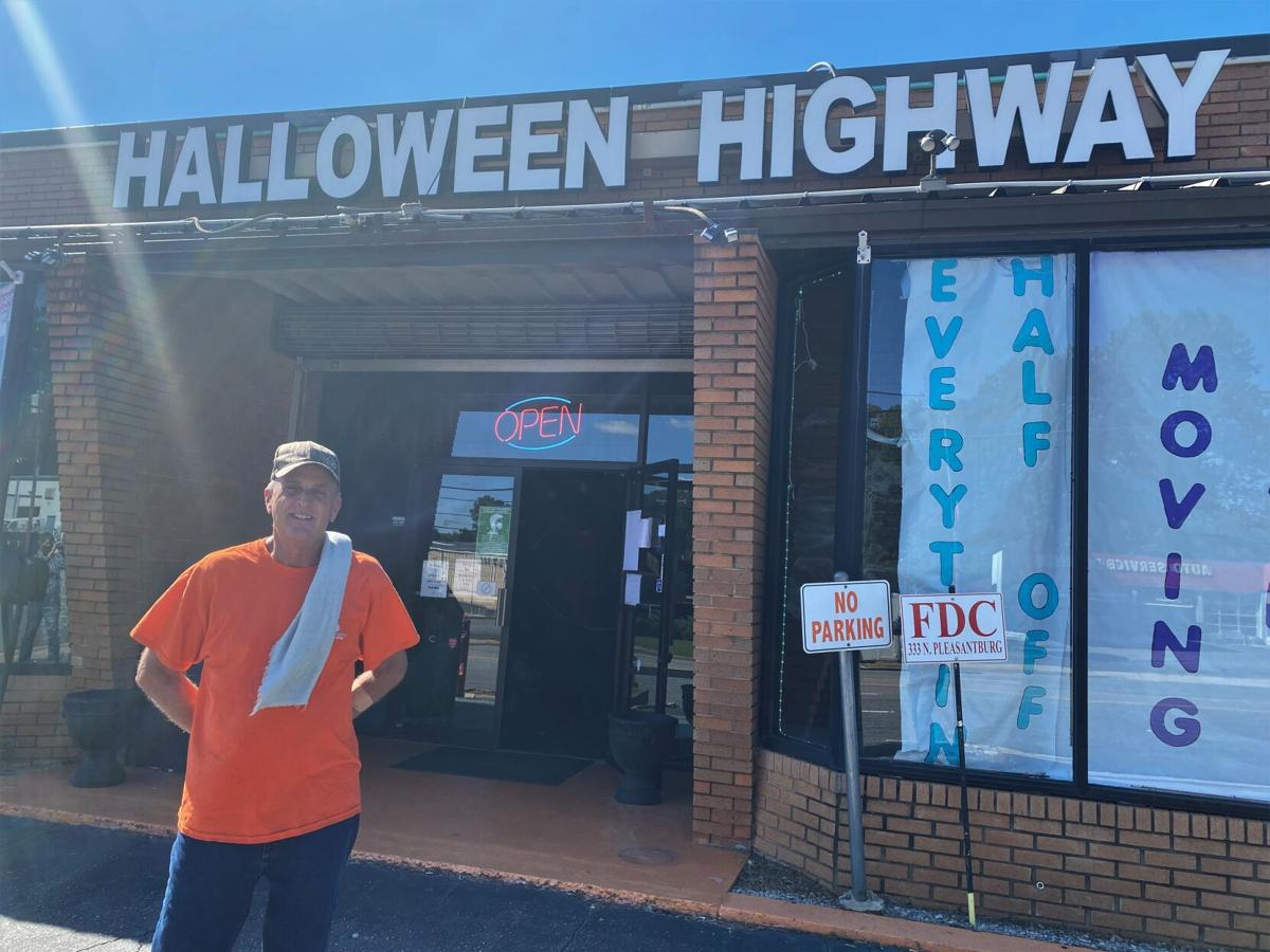 Halloween Highway Paul Holzberger Greenville