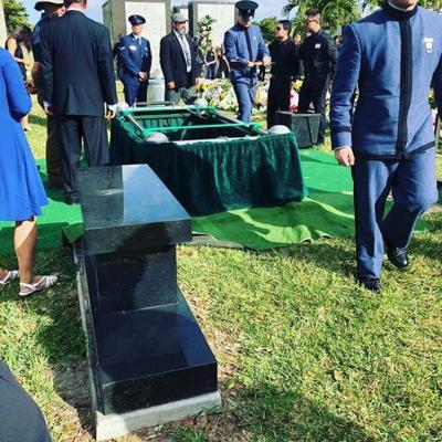 Citadel cadets at ROTC student's funeral in Florida